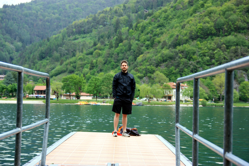 Alex am Lago di Ledro