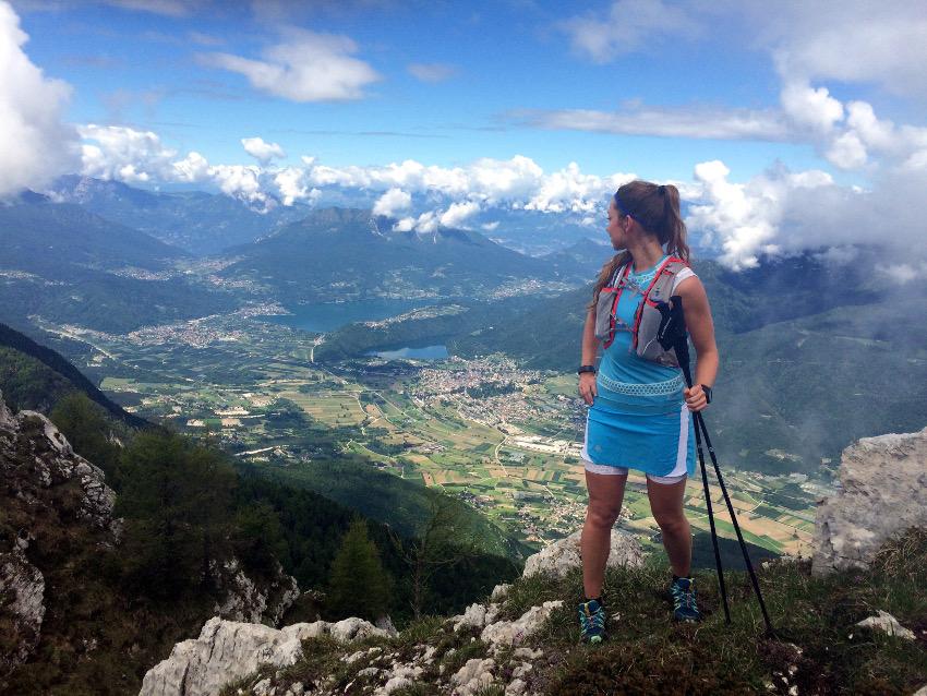 Am Cima Mandriolo konnten wir die Aussicht auf das bezaubernde Valsugana Tal genießen.