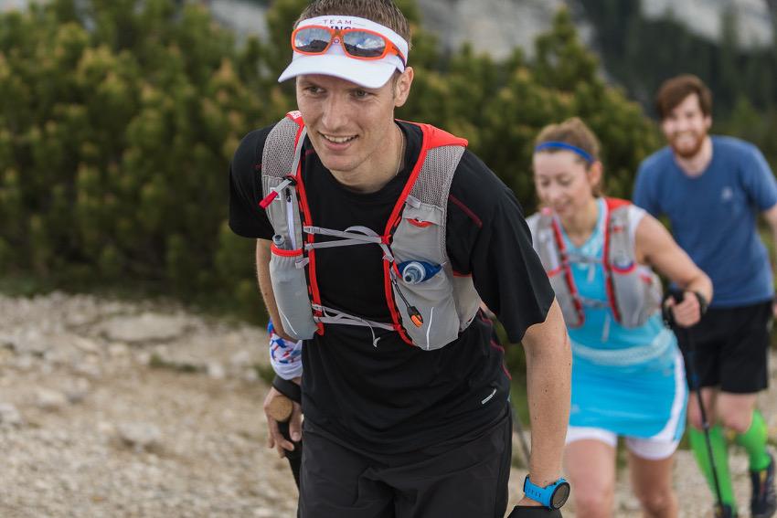 """Fast geschafft! Der """"fluffige"""" Trail zwischen Cima Mandriolo und Cima Vezzena. Foto: SportScheck"""