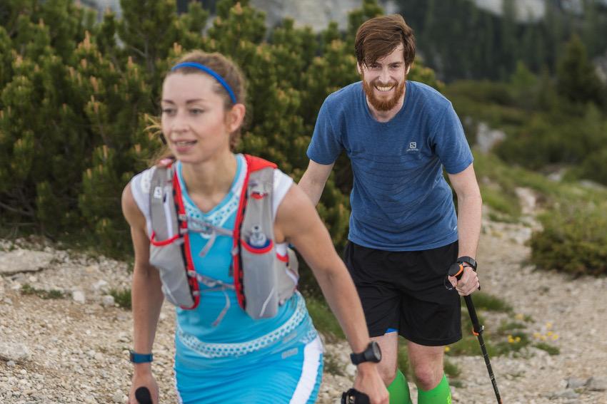 """Der """"fluffige"""" Trail zwischen Cima Mandriolo und Cima Vezzena. Foto: SportScheck"""
