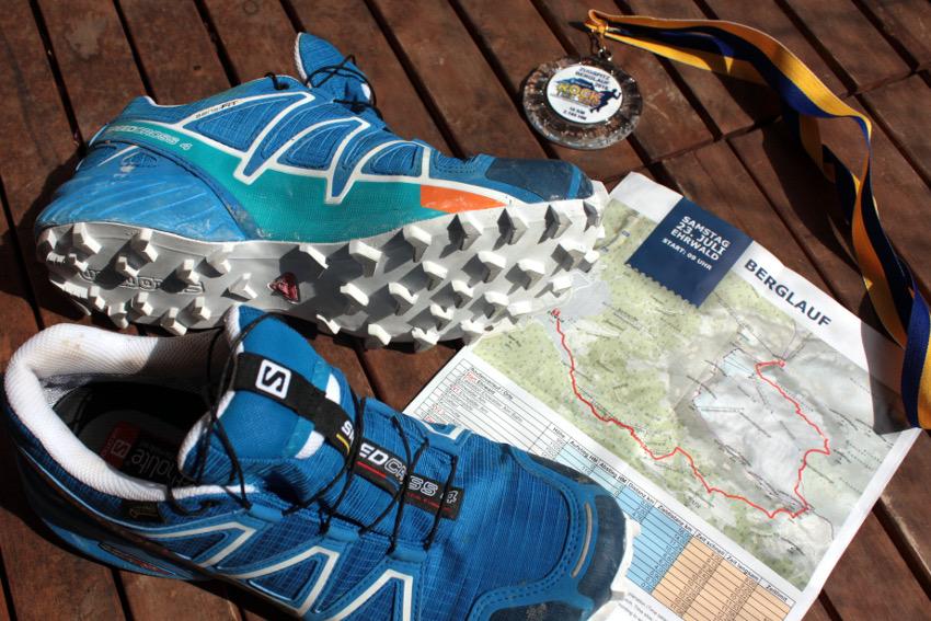 Die bisher am härtesten erkämpfte Finisher-Medaille vom Zugspitz-Berglauf