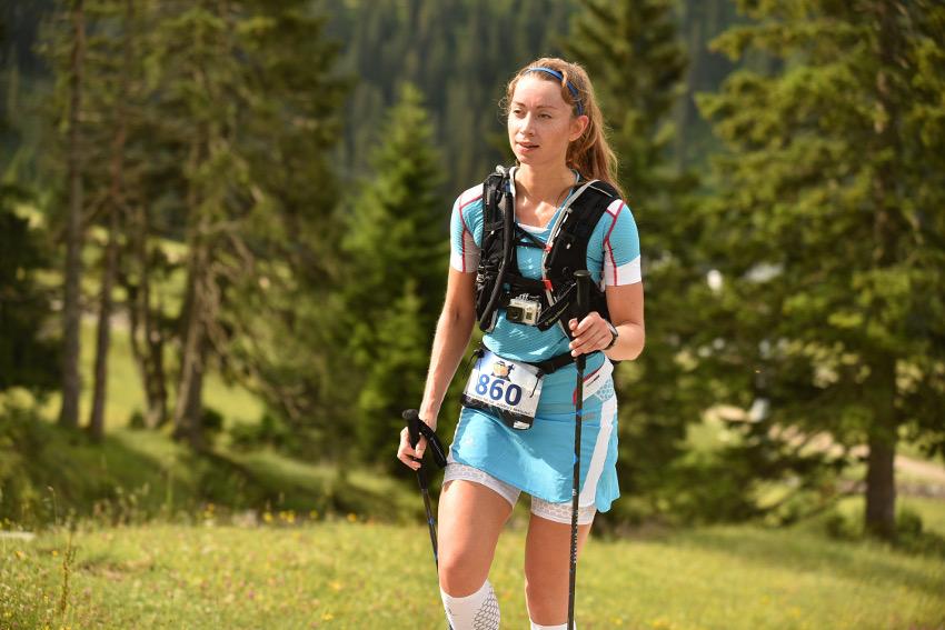 Beim Zugspitz-Berglauf lief es nicht so einfach wie in den Wettkämpfen zuvor. Foto: Sportograf
