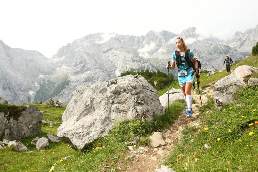 Wunderschöne Landschaft auf dem Weg zur Zugspitze. Foto: Sportograf