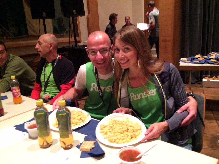 Pasta Party - endlich hatten wir unser Essen!