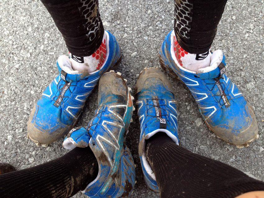 Auf den matschigen Trails haben wir unsere Gore-Tex Speedcross 4 richtig schmutzig gemacht.