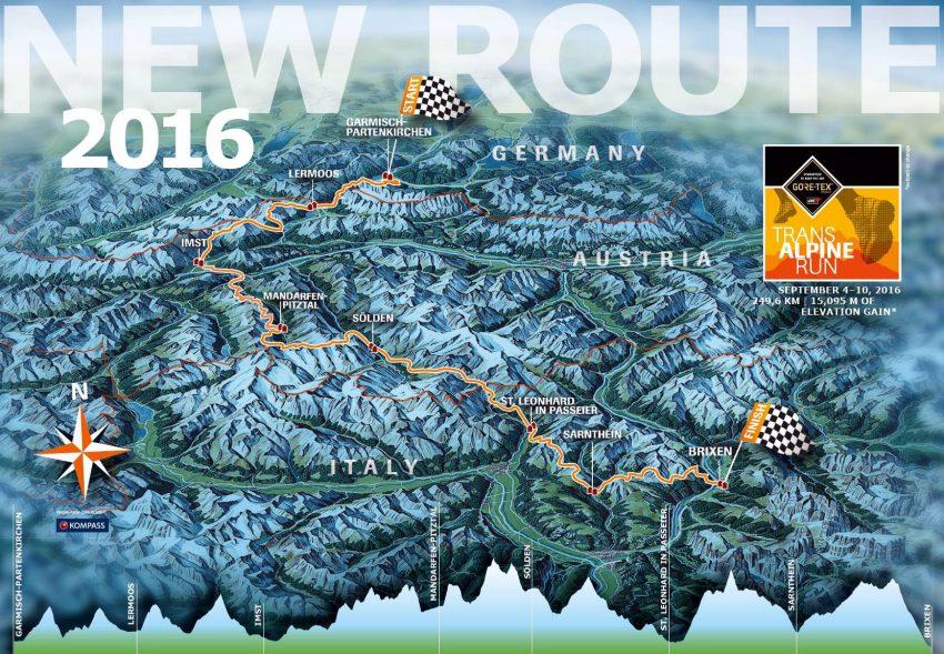 Die Strecke von Garmisch-Partenkirchen bis Brixen wollen wir in 7 Tagesetappen zurücklegen