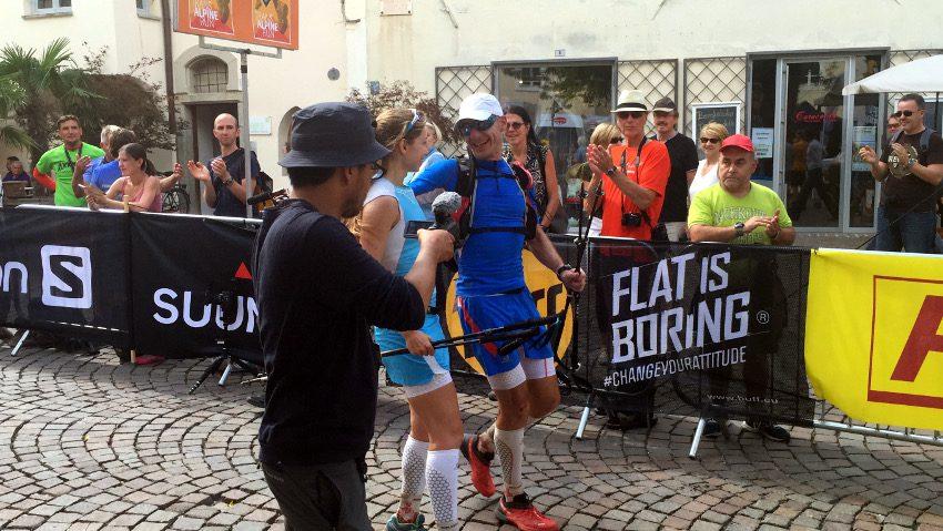 Wir haben es geschafft und sind als Team gemeinsam in Brixen angekommen!